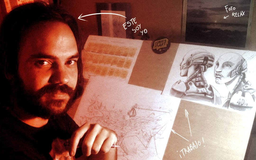 """Alfonso Pinedo: """"Soy un tío de gustos… eclécticos, pero siempre he tenido claro que quería HACER algo"""""""